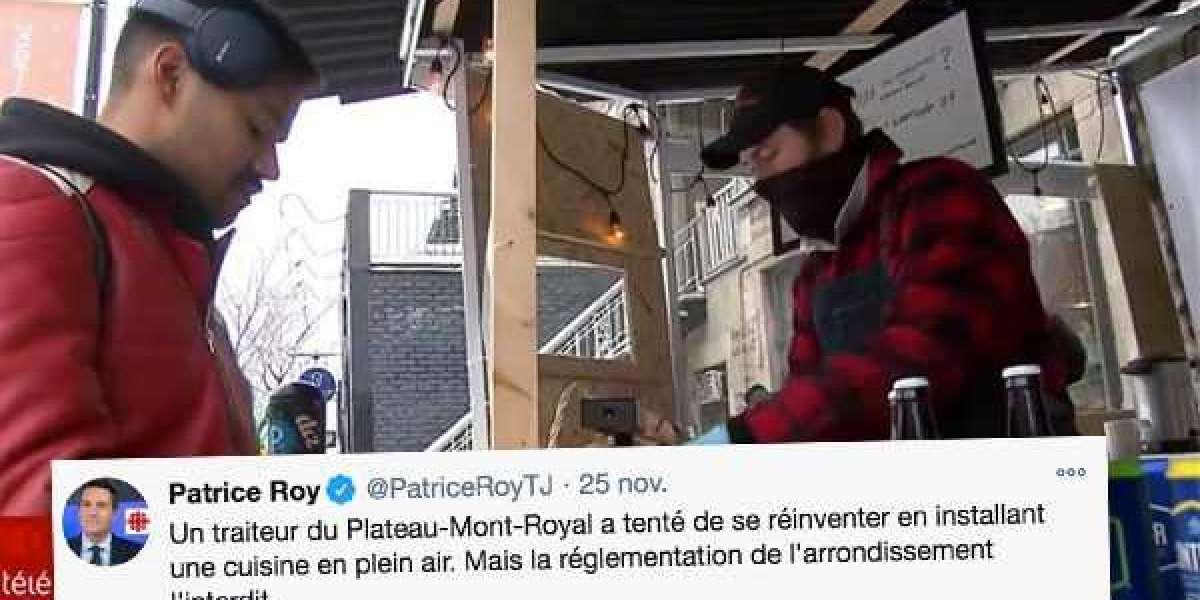 Un restaurateur du Plateau Mont-Royal se réinvente pour survivre mais la ville va lui donner des contraventions