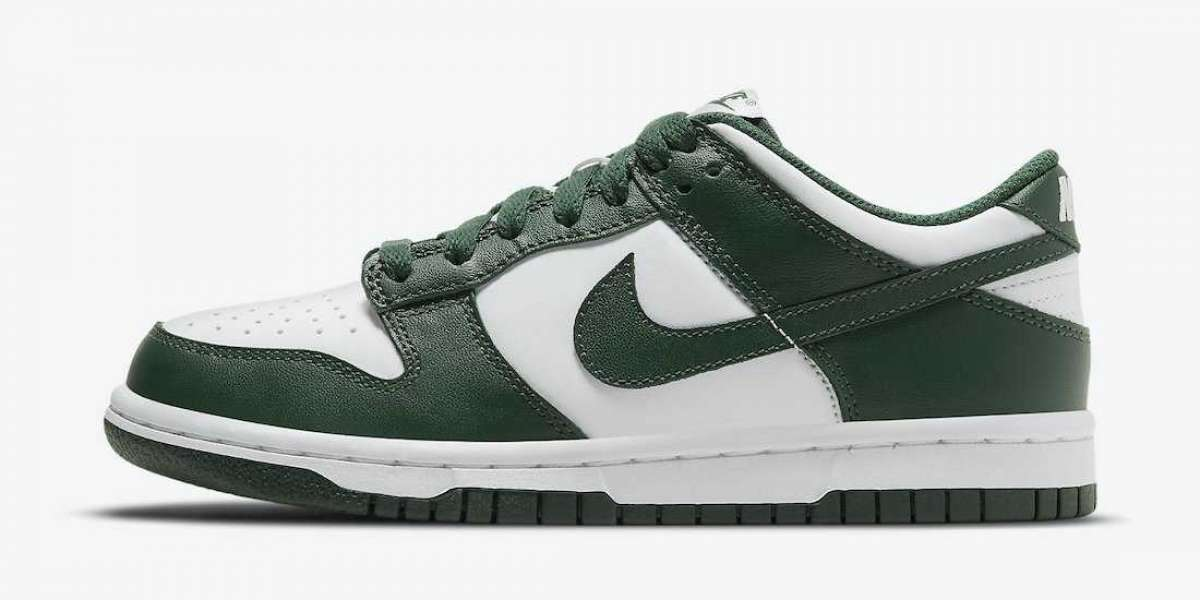 """Nike Dunk Low """"Team Green"""" 2021 New Arrival DD1391-101"""