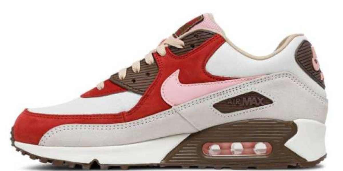 "DQM x Nike Air Max 90 ""Bacon"" 2021 New Arrival CU1816-100"